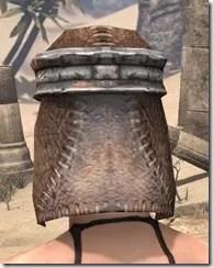 Argonian Iron Helm - Female Rear