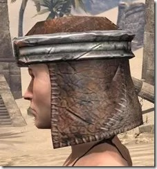 Argonian Iron Helm - Female Side