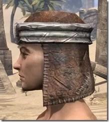 Argonian Iron Helm - Male Side