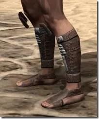 Argonian Iron Sabatons - Male Side