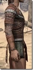 Argonian Steel Cuirass - Male Right