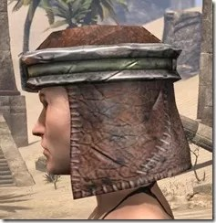 Argonian Steel Helm - Female Side