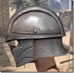 Breton Steel Helm - Female Side