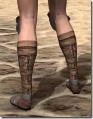 Breton Steel Sabatons - Female Rear