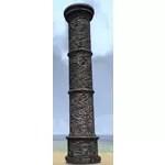 Brotherhood Column, Tall Ornate