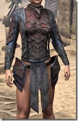 Dragon Priest Rubedite Cuirass - Female Front