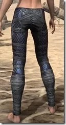 Dragon Priest Rubedite Greaves - Female Rear
