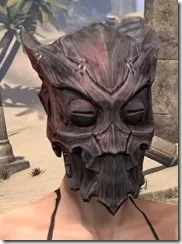 Dragon Priest Rubedite Helm - Female Front
