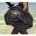 Dwemer Hickory Shield
