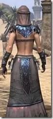 Fang Lair Ancestor Silk - Female Robe Close Back