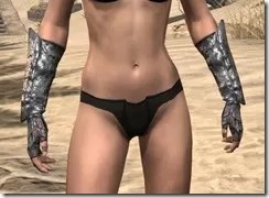 Fang Lair Ancestor Silk Gloves - Female Front