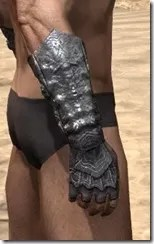 Fang Lair Ancestor Silk Gloves - Male Right