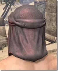 Fang Lair Ancestor Silk Hat - Male Rear