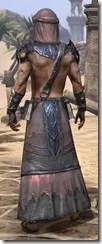 Fang Lair Ancestor Silk - Male Robe Rear