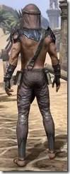 Fang Lair Ancestor Silk - Male Shirt Rear