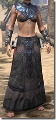 Fang Lair Ancestor Silk Robe - Female Front