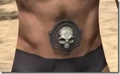 Fang Lair Rubedo Leather Belt - Male Front