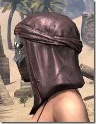 Fang Lair Rubedo Leather Helmet - Female Side