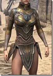 Orc Dwarven Cuirass - Female Front