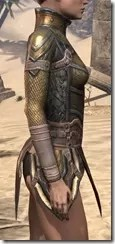 Orc Dwarven Cuirass - Female Right