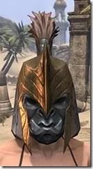 Orc Dwarven Helm - Female Front