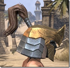 Orc Dwarven Helm - Female Right