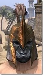 Orc Dwarven Helm - Male Front