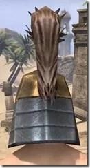 Orc Dwarven Helm - Male Rear
