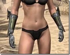 Orc Orichalc Gauntlets - Female Front