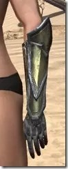 Orc Orichalc Gauntlets - Female Side