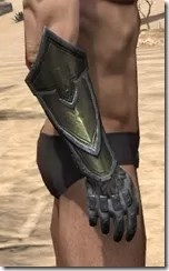 Orc Orichalc Gauntlets - Male Right