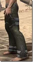 Orc Orichalc Greaves - Male Side