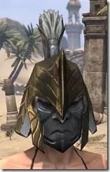 Orc Orichalc Helm - Female Front