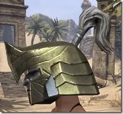 Orc Orichalc Helm - Female Side