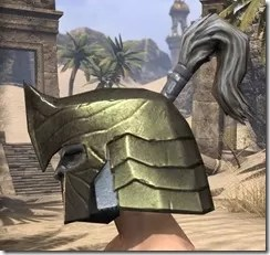 Orc Orichalc Helm - Male Side