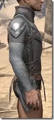 Orc Steel Cuirass - Male Right