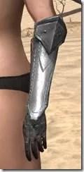 Orc Steel Gauntlets - Female Side