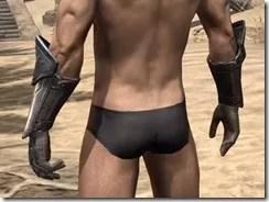 Orc Steel Gauntlets - Male Rear