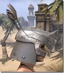 Orc Steel Helm - Female Right