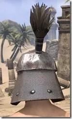 Orc Steel Helm - Male Rear