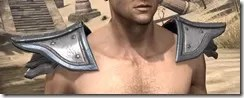 Orc Steel Pauldron - Male Front