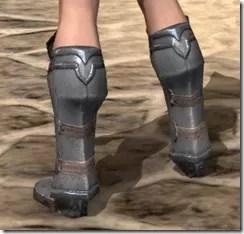 Orc Steel Sabatons - Female Rear