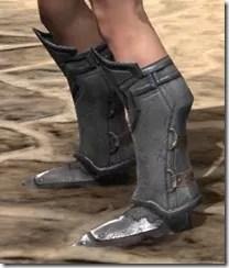 Orc Steel Sabatons - Female Side