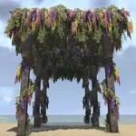 Pergola, Festive Flowers