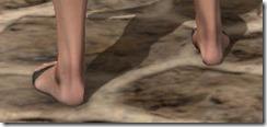 Prisoner's Sandals - Female Rear