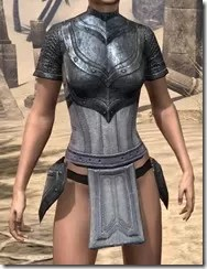 Redguard Iron Cuirass - Female Front