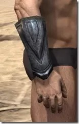 Redguard Iron Gauntlets - Male Right