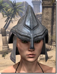 Redguard Iron Helm - Female Front