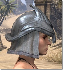 Redguard Iron Helm - Female Right