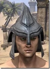 Redguard Iron Helm - Male Front